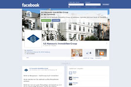 Facebook ILS Hanseatic Immobilien Group